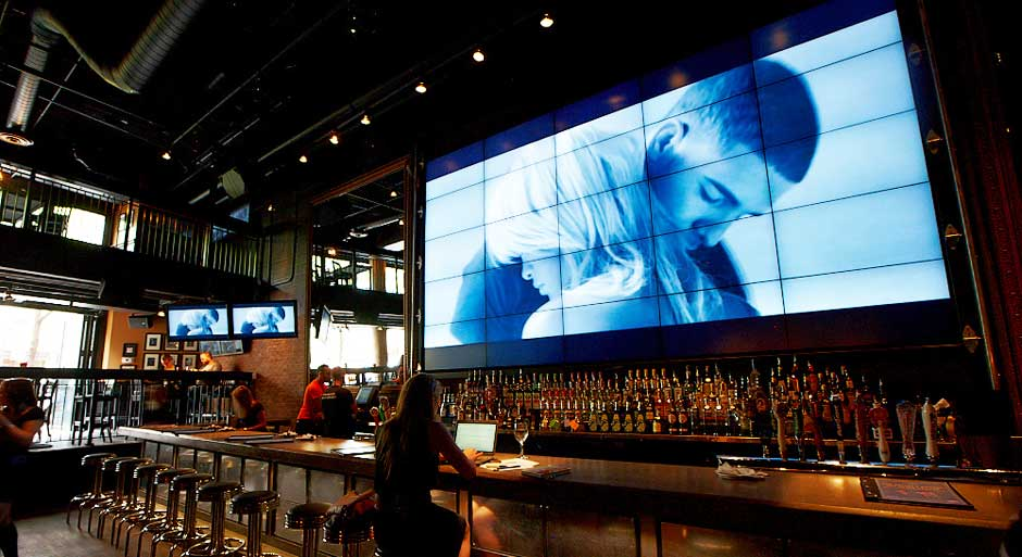 Màn hình ghép nhà hàng