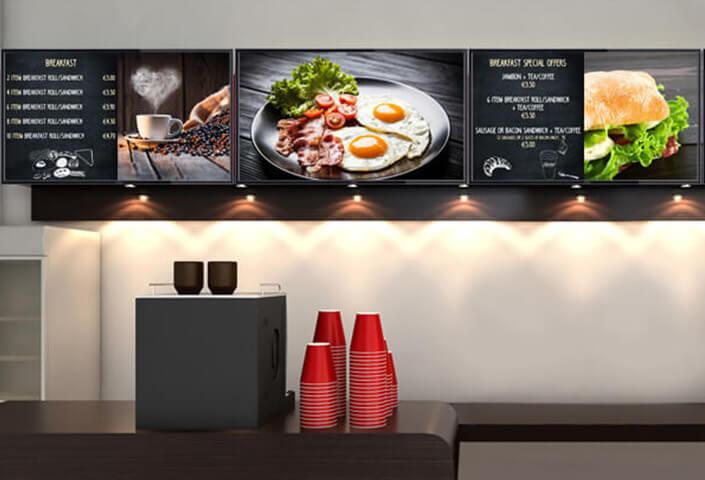 màn hình quảng cáo treo tường